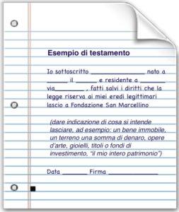 Lasciti San Marcellino Genova