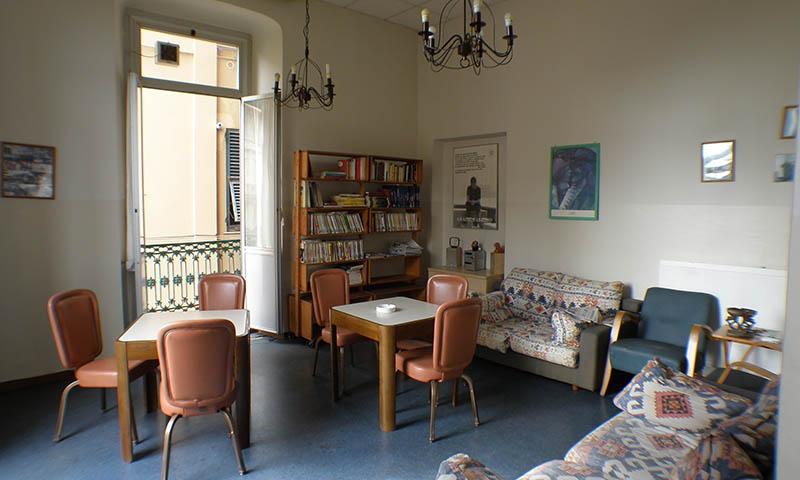 Ponte alloggiamento, Associazione San Marcellino Onlus, Genova