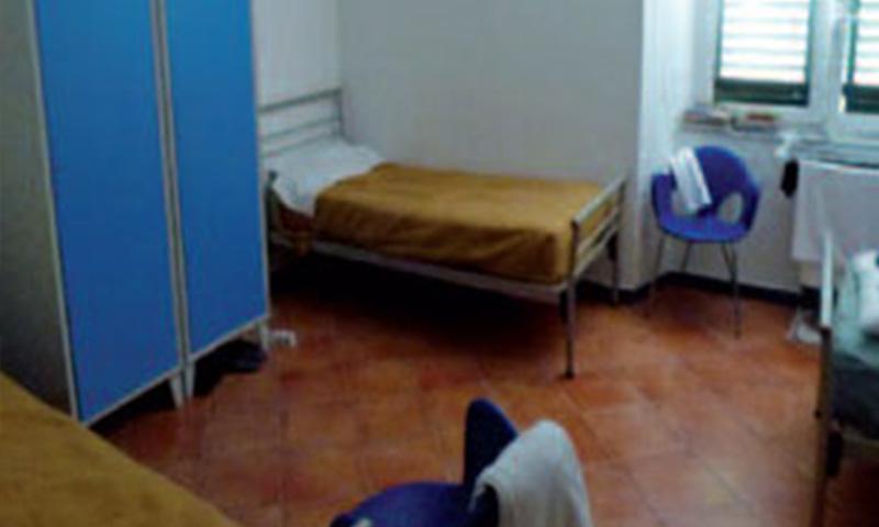 Crocicchio alloggiamento, Associazione San Marcellino Onlus, Genova